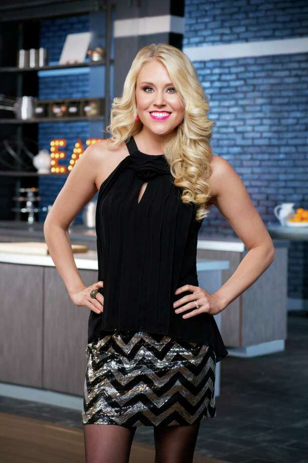 "Sarah Penrod of League City pitched the concept of an easy culinary date night for ""Food Network Star."" Photo: Food Network, Commissioned Photographer / © 2014, Television Food Network, G.P. All Rights Reserved"