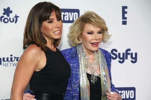 Readers debate the relevance of celebrities Melissa Rivers, from left, Joan Rivers, Kim Kardashian and Kanye West. Photo: Astrid Stawiarz, Stringer / 2014 Getty Images