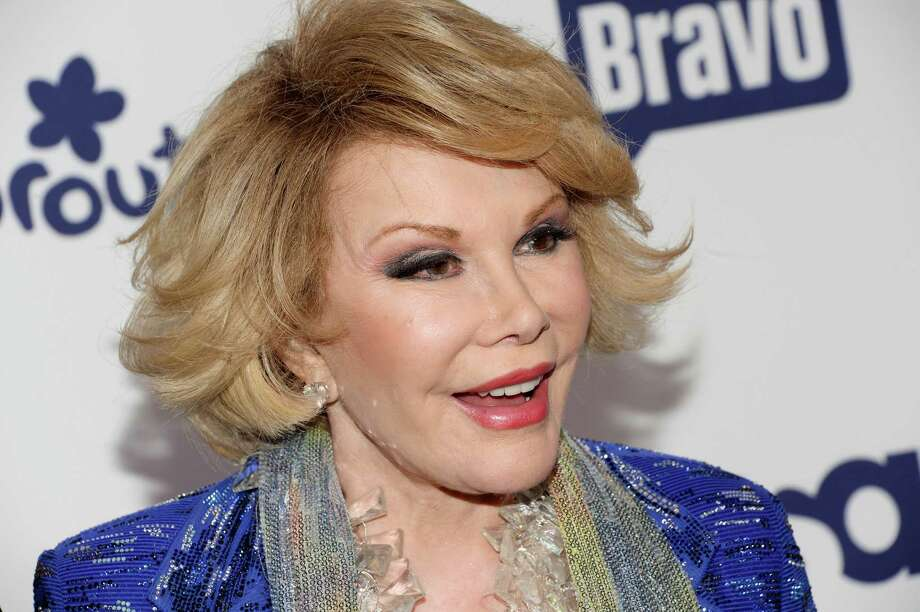 Joan Rivers on May 15, 2014, in New York. Photo: Evan Agostini, INVL / Invision
