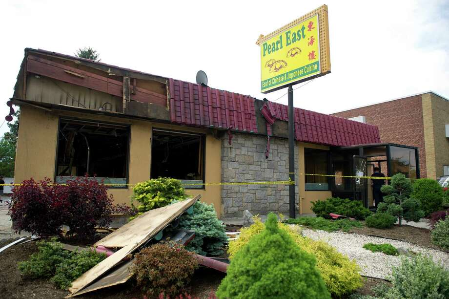 Pearl East Chinese & Japanese Restaurant on Summer Street in Stamford, Conn., on Tuesday, May 27, 2014, where a fire early Thursday morning caused extensive damage and is being investigated by fire marshals as possible arson. Photo: Lindsay Perry / Stamford Advocate
