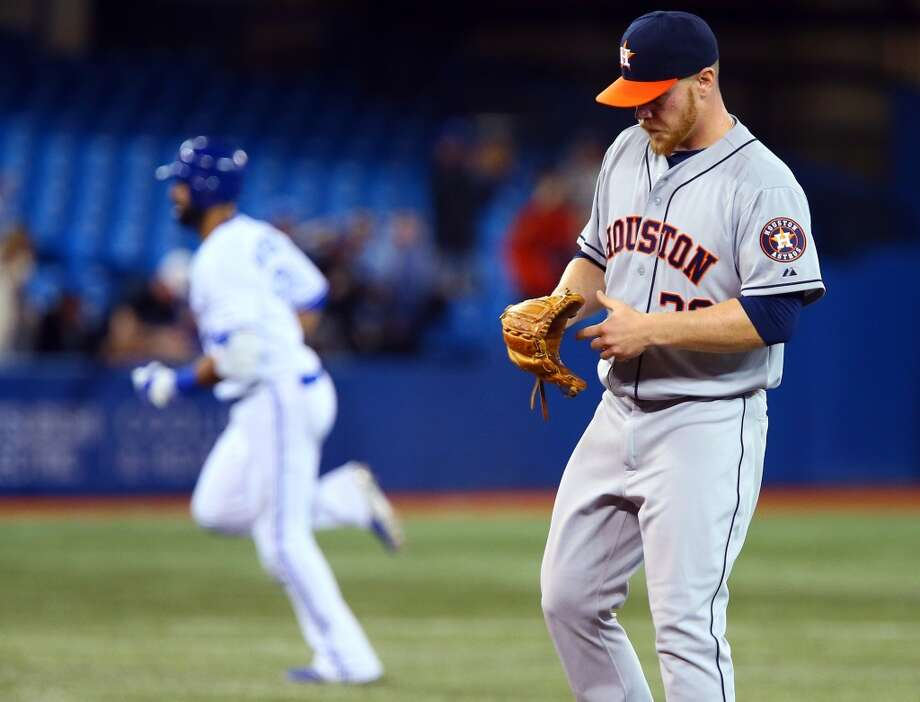 April 8: Blue Jays 5, Astros 2  Houston stranded 10 runners on base in the loss to Toronto.  Record: 3-5. Photo: Abelimages, Getty Images