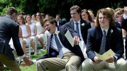 Canterbury School in New Milford, Conn., holds it's 97th graduation exercises Tuesday, May 27, 2014.