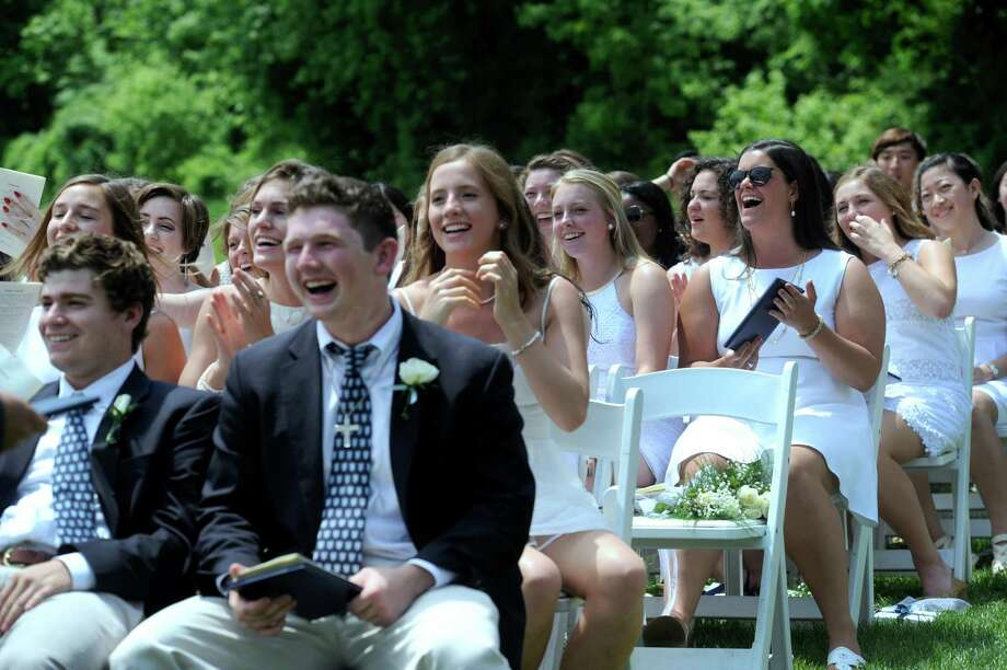 Canterbury School in New Milford, Conn., holds it's 97th graduation exercises Tuesday, May 27, 2014. Photo: Carol Kaliff / The News-Times