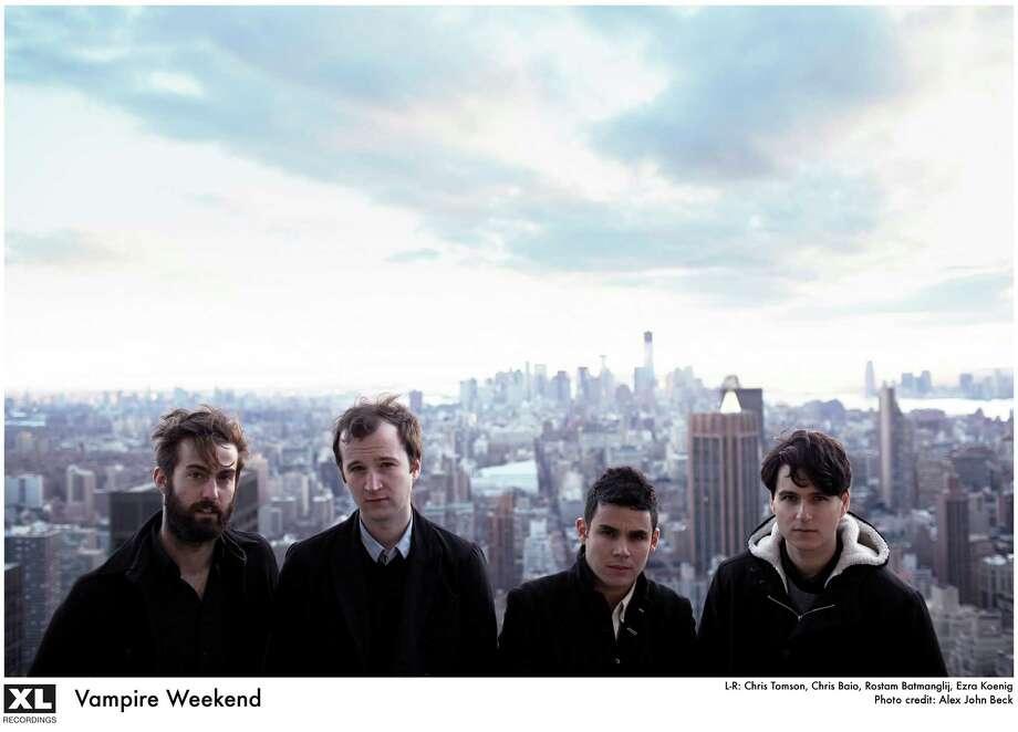 rock band Vampire Weekend Photo: Alex John Beck / handout