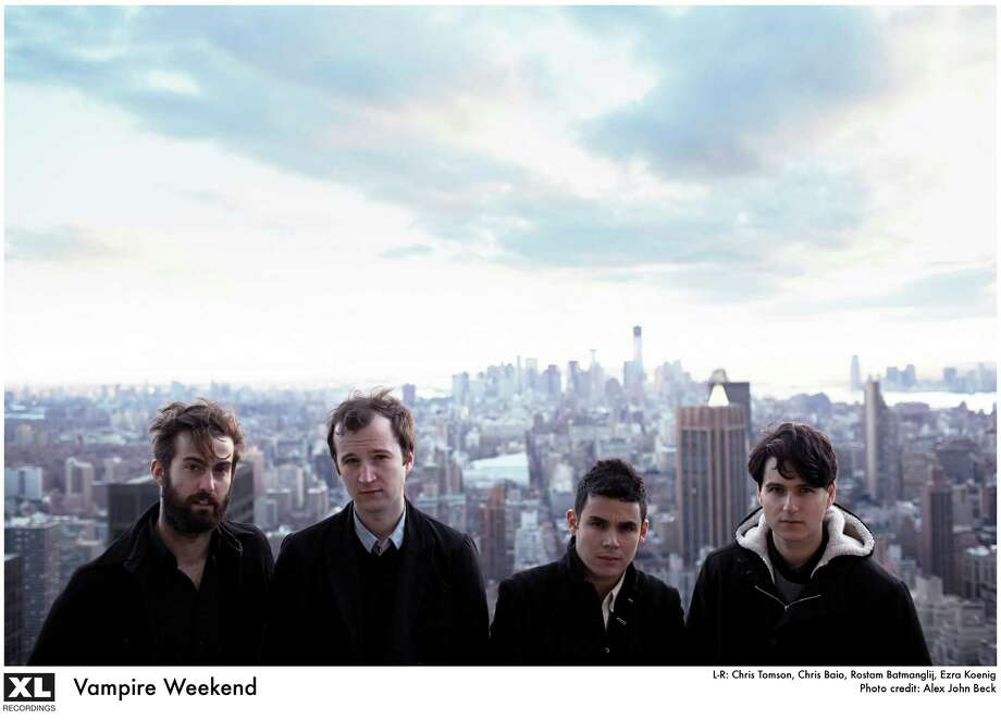 rock band Vampire Weekend Photo: Alex John Beck