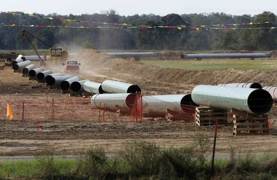 Construction problems were found on the southern section of the Keystone pipeline, from Oklahoma to Texas' Gulf Coast. Photo: Tony Gutierrez, Associated Press