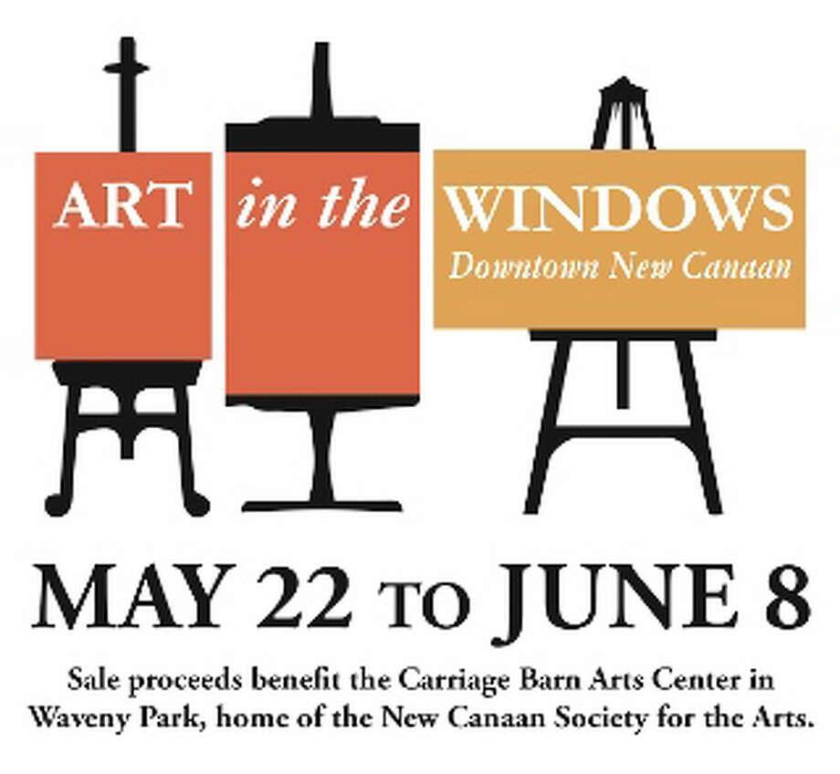 Art in the Windows continues in downtown New Canaan through June 8. Visitors will get a chance to see the artwork in store windows while watching local artists work during a special event Saturday, May 31. Photo: Contributed Photo, Contributed / New Canaan News Contributed