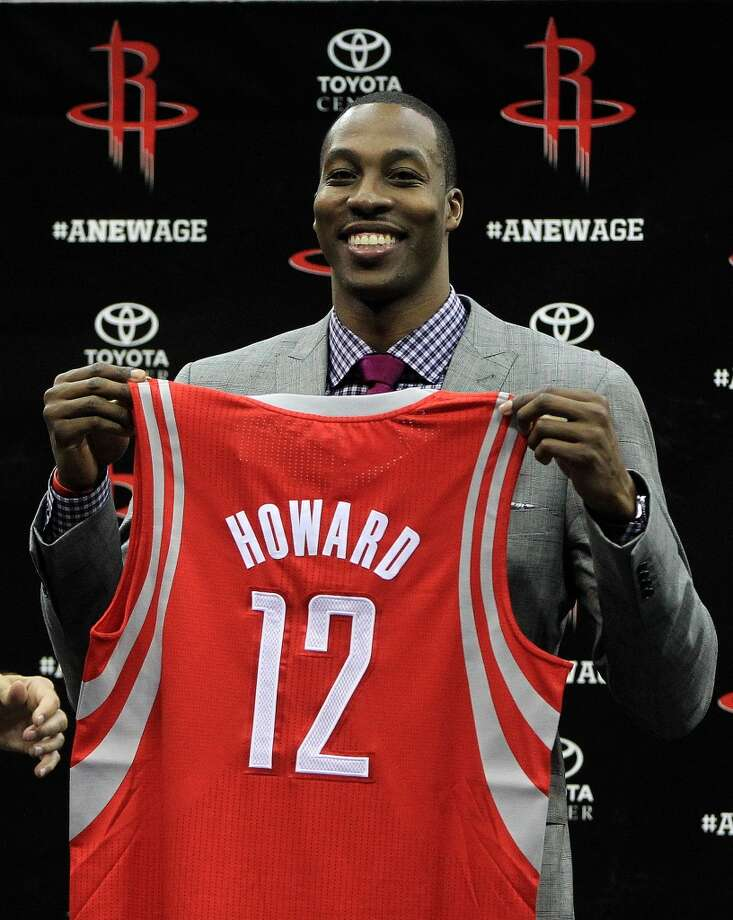 Dwight Howard is the 11th and likely final Rocket to ever wear No. 12. See who is the best player to wear each jersey number in franchise history. Note: The following numbers have not been worn: 26, 28, 36-39, 46-49, 56-95, 97-99. Photo: Karen Warren, Chronicle