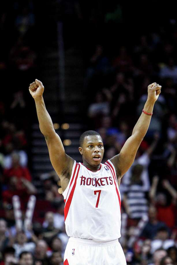 7 - Kyle LowryPicked up in mid-season 2009, Lowry became arguably the most valuable player on the team during his three-plus year run. During the 2011-12 season, Lowry averaged a career-best 14.3 points per game. Photo: Michael Paulsen, Houston Chronicle / © 2012 Houston Chronicle