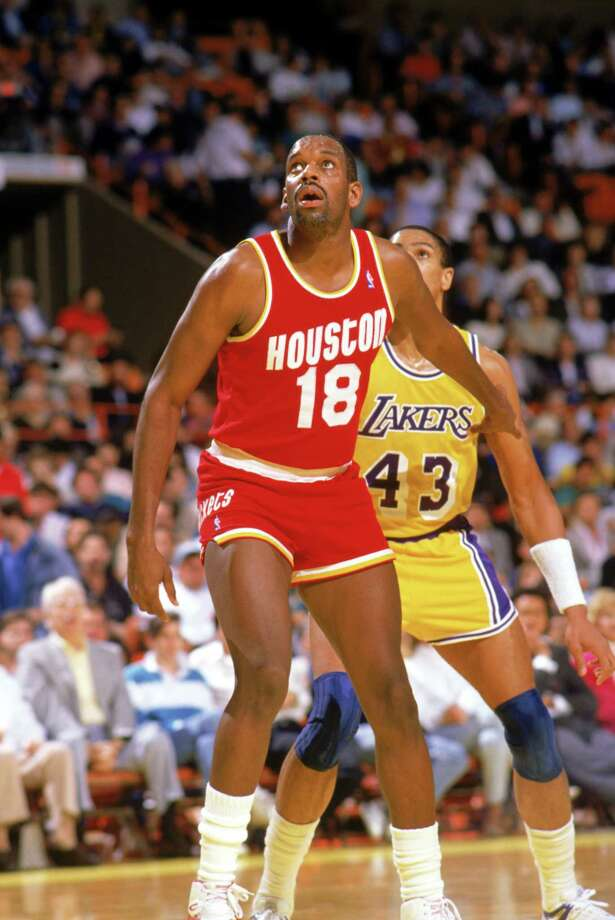 18 - Cedric Maxwell Maxwell, best known for winning two titles with the Celtics and being named MVP of the 1981 NBA Finals, played the final season and a half of his 11-year career with the Rockets. He averaged about five points in 117 games. Photo: Mike Powell, Getty / 1987 Getty Images