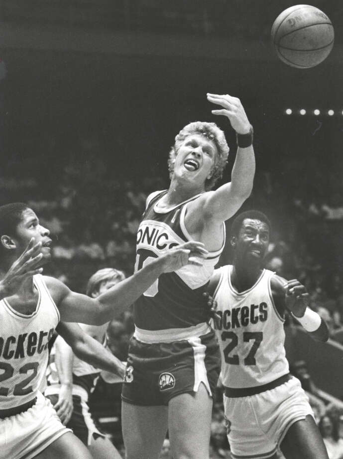27 - Caldwell Jones He was a full-time starter for two seasons in the early 1980s and was one of three Jones brothers (Charles, Major) to play for the Rockets. He averaged 10 points in his last year. Photo: Timothy Bullard, Houston Chronicle / Houston Chronicle