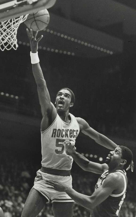 50 - Ralph Sampson  He was drafted No. 1 overall out of Virginia in the 1983 NBA draft and was an All-Star each of his four full seasons in Houston. Sampson averaged 19.7 points and 10.4 rebounds in Houston. Photo: Steve Campbell, Houston Chronicle / Houston Chronicle