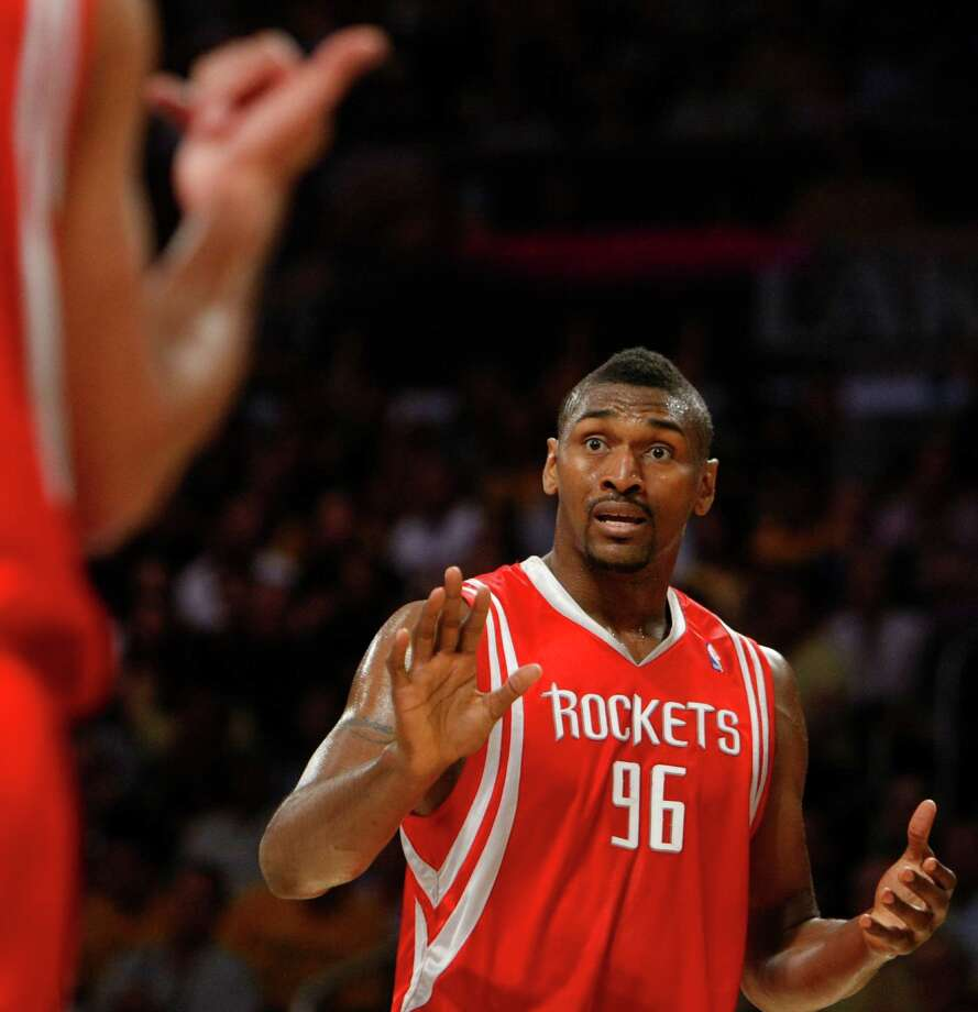 96 - Metta World Peace Formerly known as Ron Artest, Metta World Peace averaged 17.1 points in his one season in Houston, 2008-2009. Photo: Nick De La Torre, Houston Chronicle / Houston Chronicle