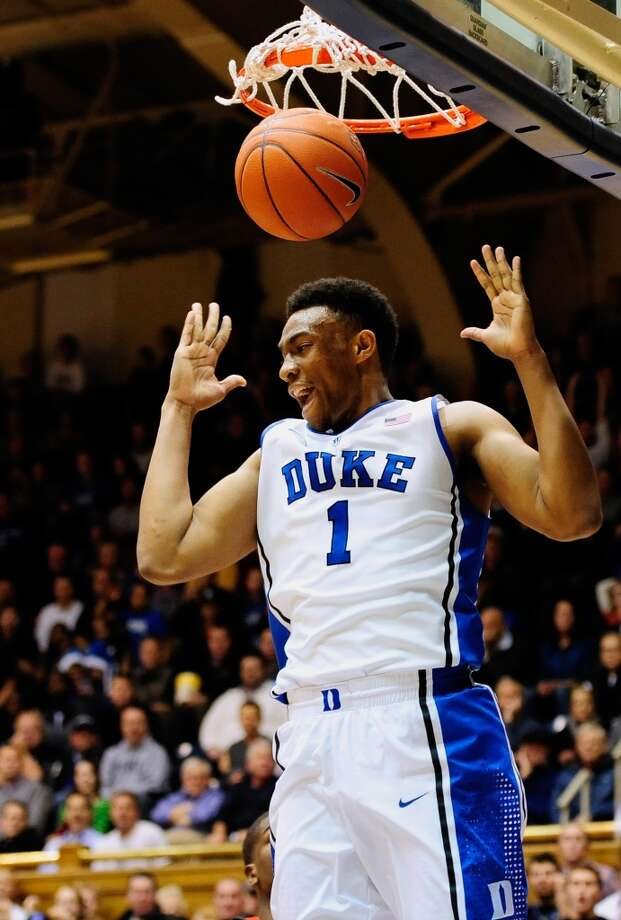 3. Philadelphia – Jabari Parker, 6-8,PF, Duke  Not sure the Sixers spent the season waiting for this draft to pick the guy left over after   Cavs and Bucks picks, but Parker can be the relative sure thing, particularly in the 76ers' up-tempo system, with Michael Carter Williams while Nerlens Noel develops. Photo: Grant Halverson, Getty Images