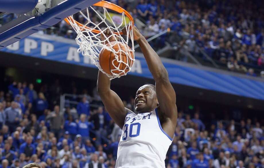 5. Utah – Julius Randle, 6-9, F, KentuckyIn terms of fit, Marcus Smart would make more sense and potentially combine with Alec Burks in a Smart-Burks backcourt. But even without need at power forward, that's where the strength of the draft is here, with Randle the best player available. Photo: Andy Lyons, Getty Images
