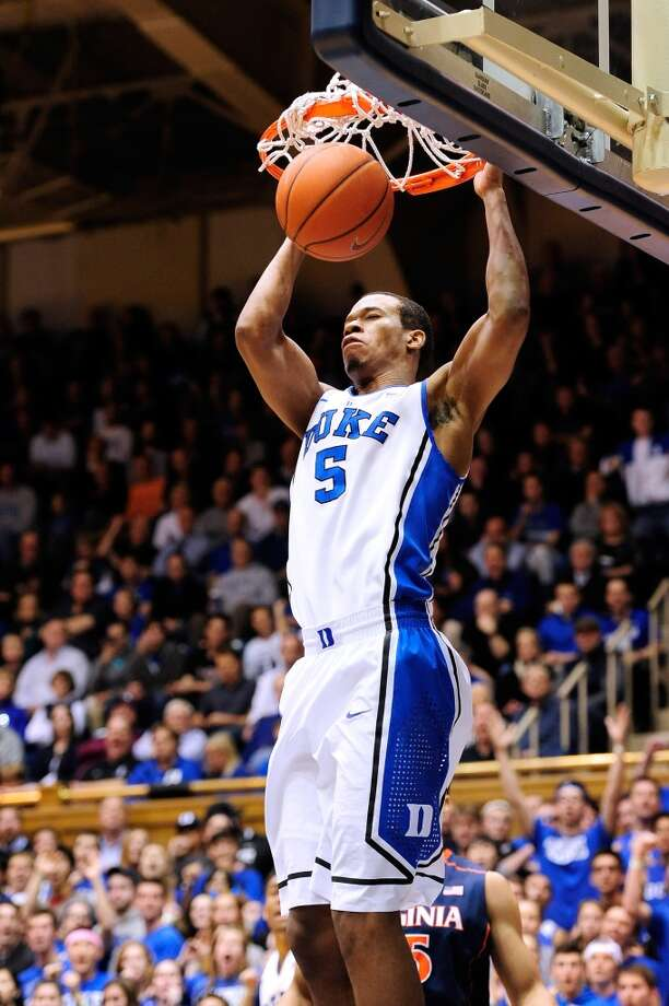 15. Atlanta – Rodney Hood, 6-8, F, DukeOvershadowed by Parker in his one season after transferring from Mississippi State, Hood has good size and a strong shooting stroke that could have him move up to the middle of the first round. The Hawks might prefer a frontcourt player, but not the options at this point in the draft. Photo: Grant Halverson, Getty Images