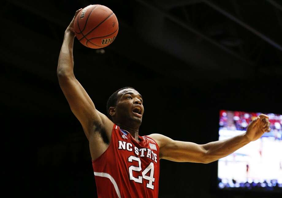 18. Phoenix – T.J. Warren, 6-8, F, North Carolina State  The Suns could be open to dealing at least one of their three first-round picks, and could look to package picks to move up. But if they get backcourt shooting with the first pick, could then grab a scoring forward if Warren lasts long enough in the draft. Photo: Gregory Shamus, Getty Images