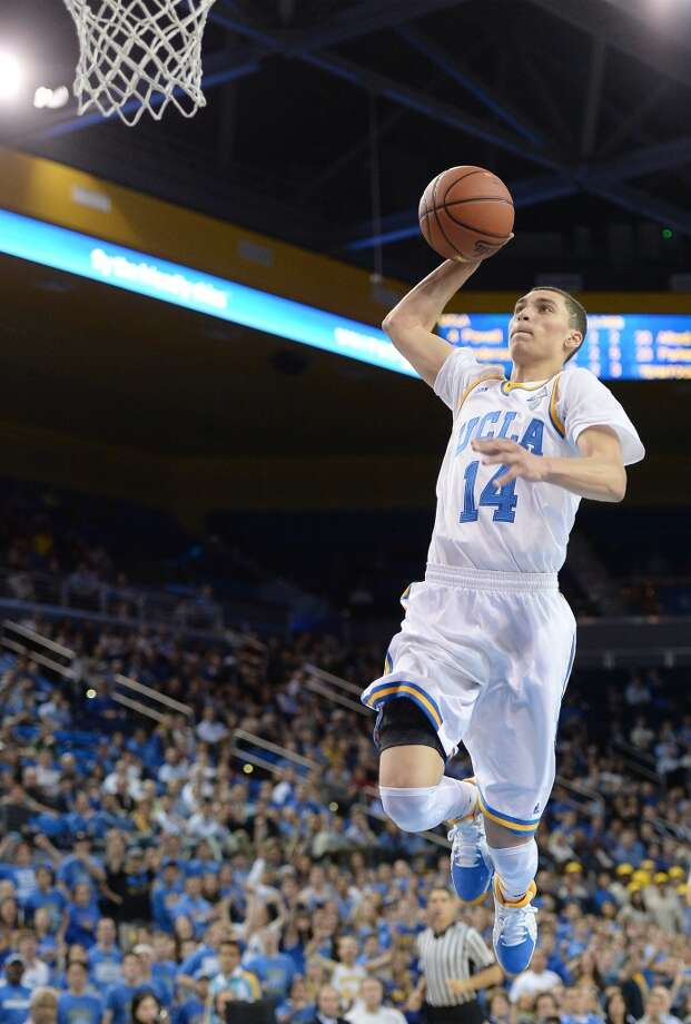 20. Toronto – Zach LaVine, 6-6, G, UCLA  With Kyle Lowery and Greivis Vasquez free agents, the Raptors plan to sign both, but that might be tough, potentially making guard help a draft priority. LaVine is a backcourt tweener, but athletically will likely be able to handle the point and would be a good fit playing with Lowry. Photo: Harry How, Getty Images