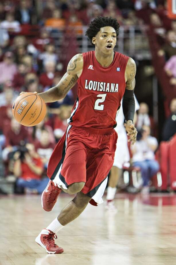 26. Miami – Elfrid Payton, 6-4, G, Louisiana Lafayette  With Mario Chalmers and Norris Cole free agents, the Heat could need depth at the position and seek a point guard to develop, with Payton in the mold of their previous picks. Photo: Wesley Hitt, Getty Images