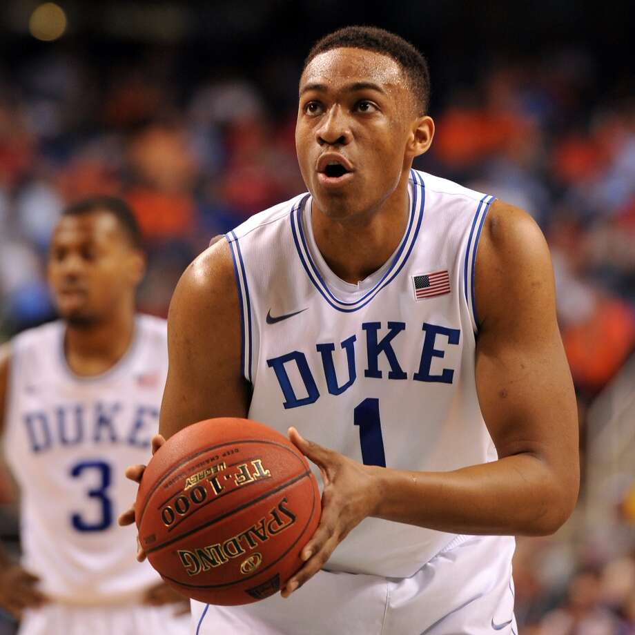 Jabari Parker, Duke, 6-8, F  Parker turned heads in his one year with the Blue Devils, scoring 19.1 points per game. He was also a good rebounder- grabbing 8.7 per outing. Parker will need defensive improvement as he will face athletic forwards in the NBA. Photo: Lance King, Getty Images