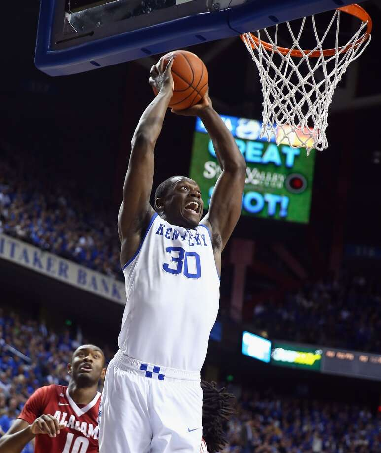 Julius Randle, Kentucky, 6-9, F  While some of the other top draft prospects opted out of attending the NBA Combine in Chicago, Randle went and earned some recognition. His size is good for his position and at the combine, he did well in drills to show off his athleticism. And if that wasn't enough, there were still the fond memories of his play throughout the NCAA tournament. Photo: Andy Lyons, Getty Images