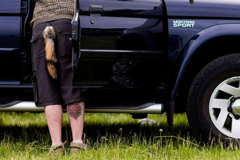 Is that a squirrel in  your pants or ...?They're always searching for nuts. (Sasquatch music festival in George,   Wash.) Photo: Jordan Stead, Seattlepi.com