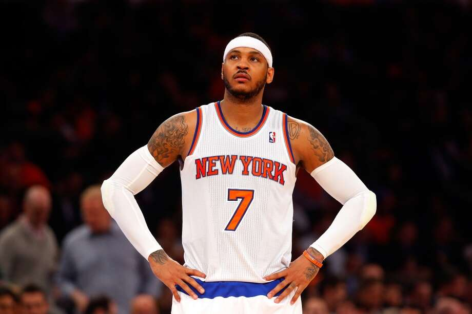 Carmelo Anthony Small forward 6-8, 230 lbs  The 29-year-old scorer has already said he will opt out of his current deal with the Knicks and become a free agent on July 1. Photo: Jim McIsaac, Getty Images