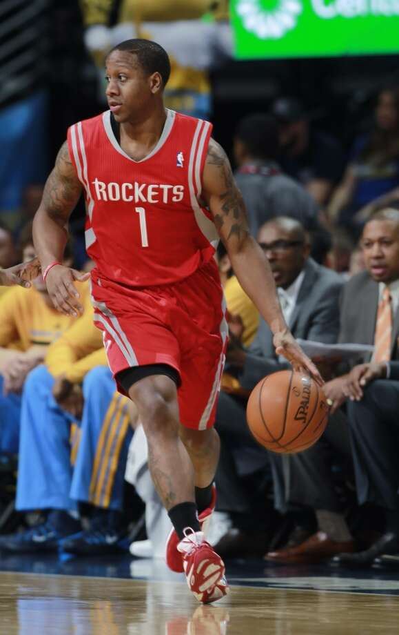 Isaiah Canaan, Guard  2014-15 contract: $816,482, guaranteed   Comment: Canaan had an outstanding season in the D-League, which was all that was expected. In brief stretches with the Rockets, he struggled, but he was drafted in the second-round to be a project.  Grade: B Photo: David Zalubowski, Associated Press