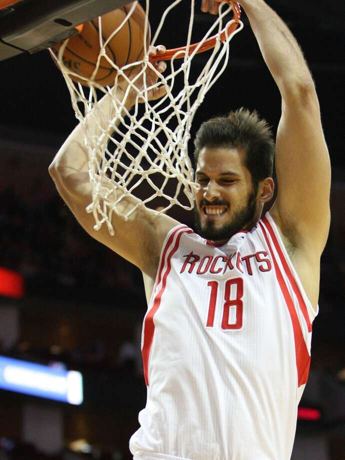 Omri Casspi, Forward2014-15 contract: $1,063,384, unguaranteed   Comment: After a promising start, primarily as a range-shooting four, Casspi fell out of the Rockets rotation completely, never quite filling the enormous void as a backup small forward.  Grade: C Photo: Johnny Hanson, Houston Chronicle