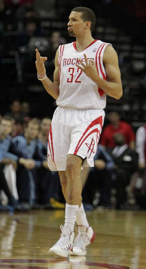 Francisco Garcia, Guard/Forward  2014-15 contract: $1,316,809, player option   Comment: Garcia is among the Rockets' most respected locker room leaders, but given the Rockets' lack of wing depth, they needed more, especially in the post-season when he fell from the reputation.  Grade: C + Photo: James Nielsen, Houston Chronicle