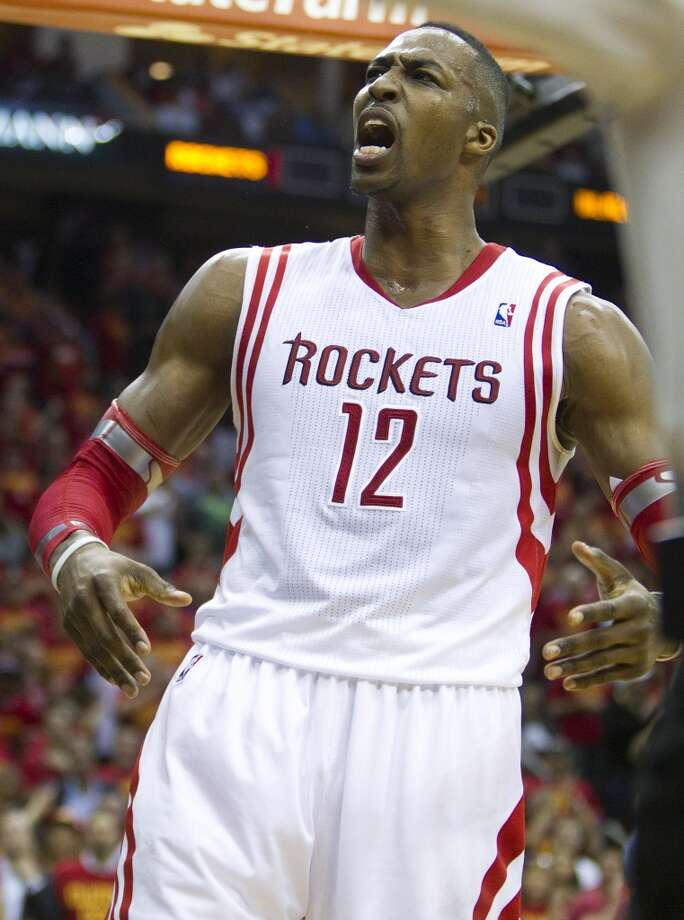 Dwight Howard, Center2014-15 contract: $21,436,271   Comment: Howard was brought in to take the Rockets much farther than just to six post-season games, but he stepped up big-time in the series, scoring, defending, rebounding and leading. The season was a disappointment; the star was not.  Grade: A Photo: Brett Coomer, Houston Chronicle