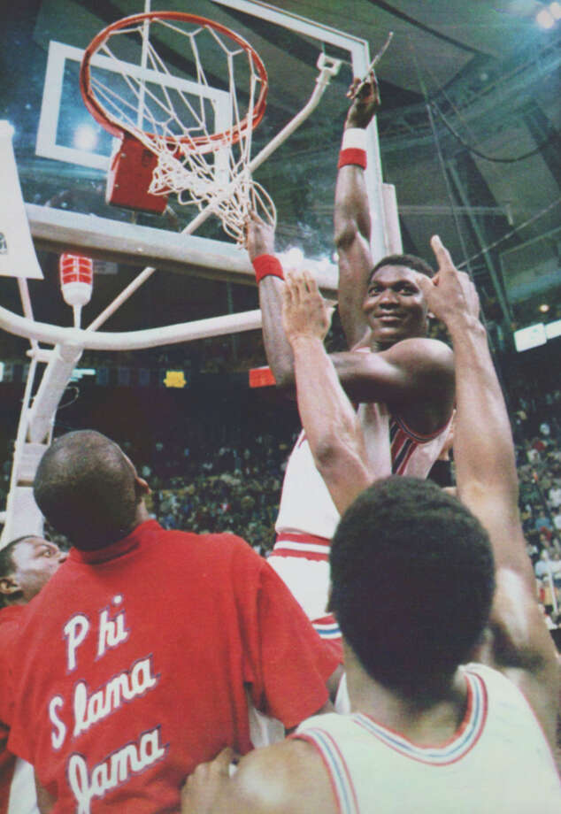Hakeem was named the Final Four's Most Outstanding Player in 1983. Photo: Associated Press File Photo