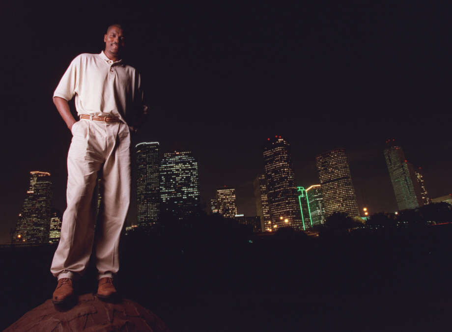 Hakeem Olajuwon has called Houston home for more than 30 years. Photo: Karen Warren, Chronicle