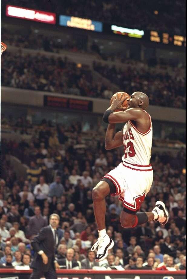1995-96 — Michael Jordan, Chicago Photo: Jonathan Daniel, Getty Images