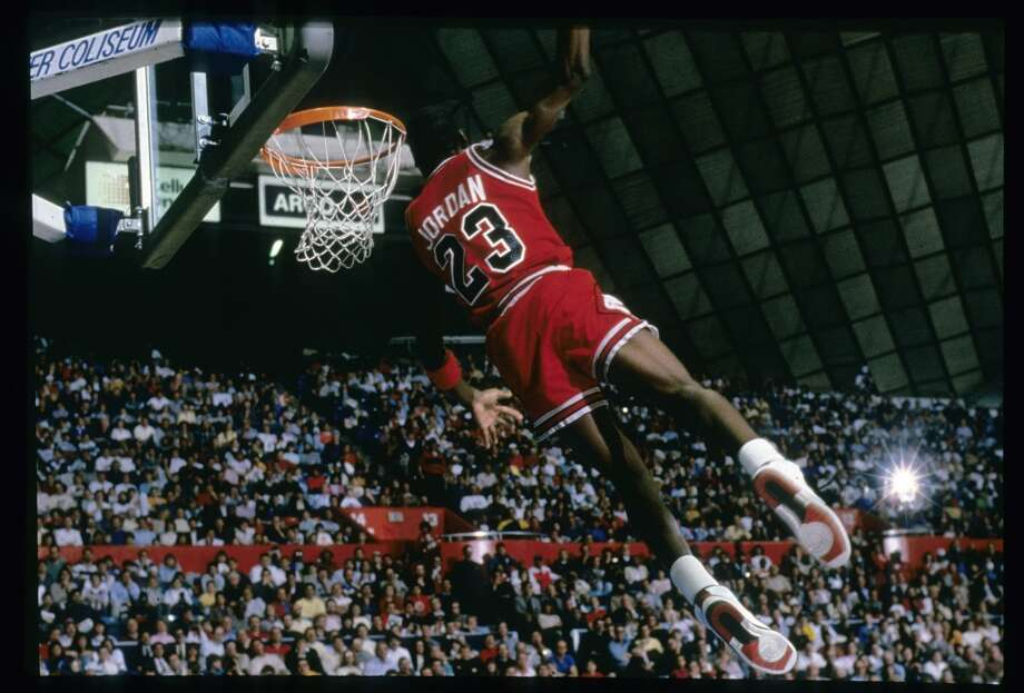 1987-88 — Michael Jordan, Chicago Photo: Focus On Sport, Getty Images