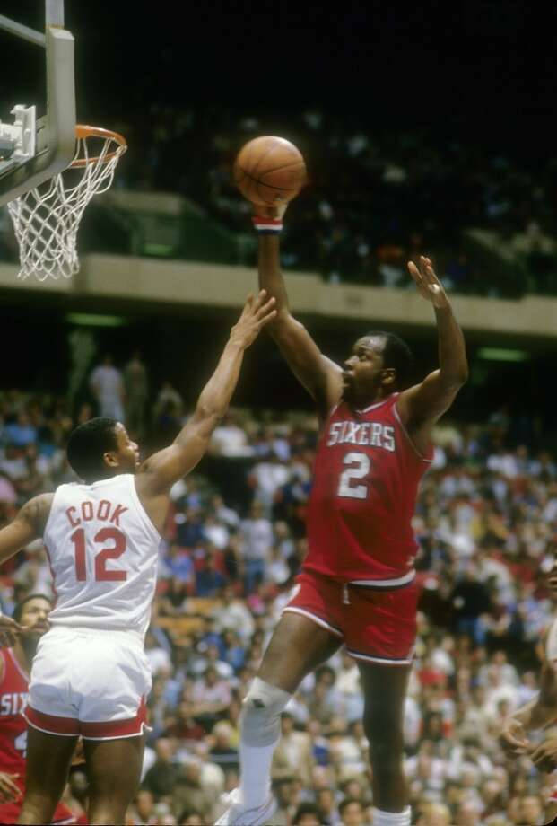 1982-83 — Moses Malone, Philadelphia 76ers Photo: Focus On Sport, Getty Images