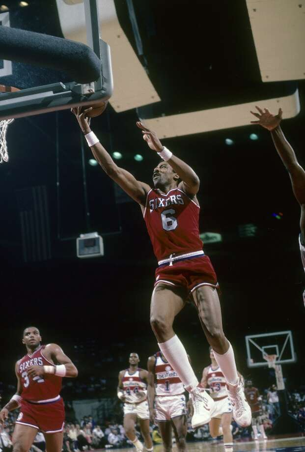 1980-81 — Julius Erving, Philadelphia 76ers Photo: Focus On Sport, Getty Images