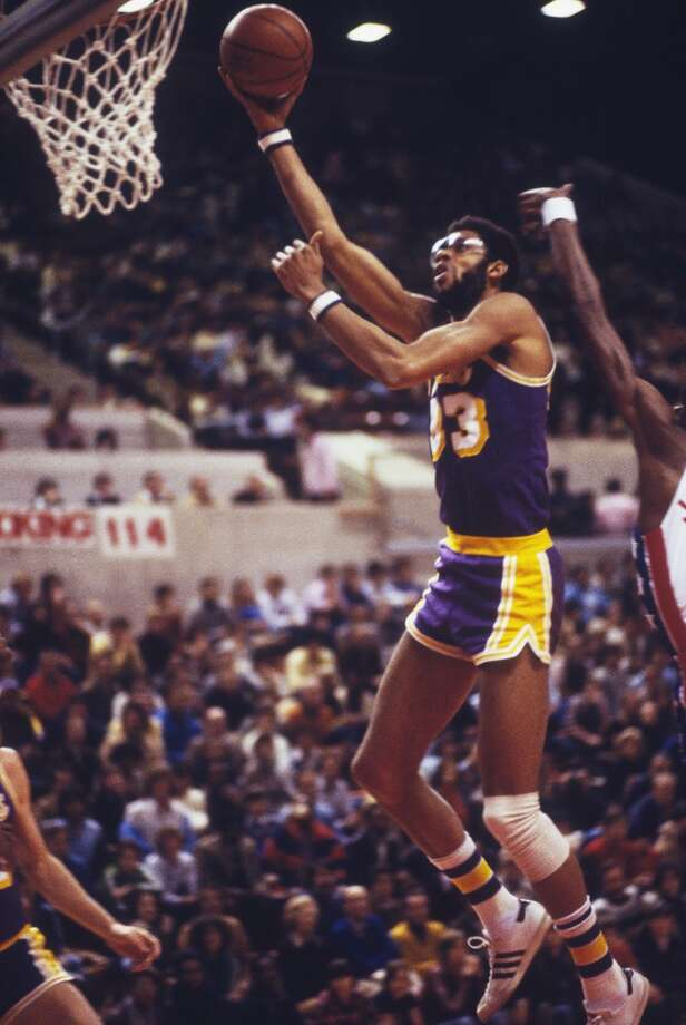 1979-80 — Kareem Abdul-Jabbar, L.A. Lakers Photo: Focus On Sport, Focus On Sport/Getty Images