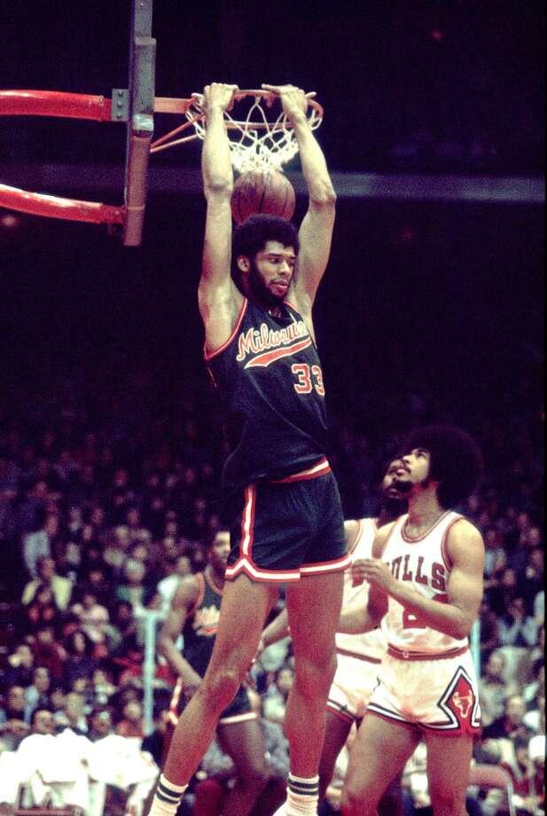 1973-74 — Kareem Abdul-Jabbar, Milwaukee Photo: Paul Natkin, WireImage