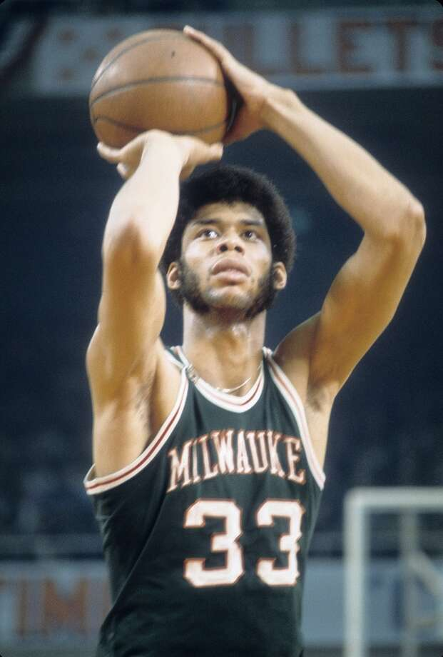 1971-72 — Kareem Abdul-Jabbar, Milwaukee Photo: Focus On Sport, Getty Images
