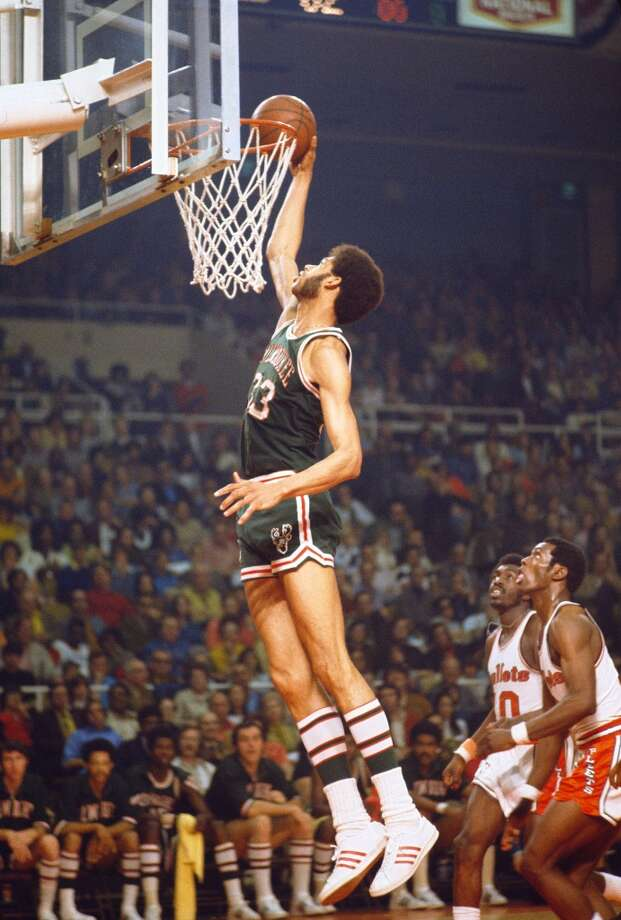 1970-71 — Kareem Abdul-Jabbar, Milwaukee Photo: Focus On Sport, Getty Images