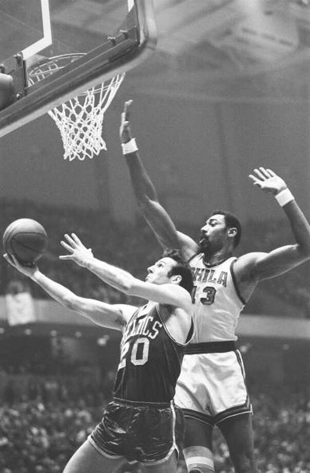 1967-68 — Wilt Chamberlain, Philadelphia 76ers Photo: Dick Raphael, Sports Illustrated/Getty Images / Sports Illustrated