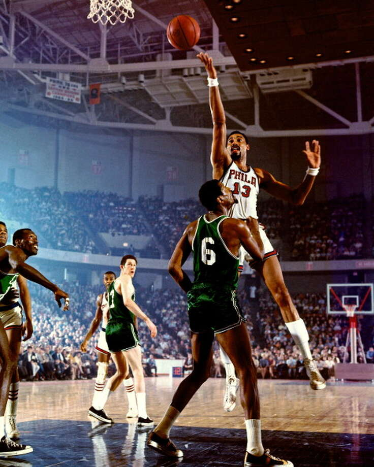 1965-66 — Wilt Chamberlain, Philadelphia 76ers Photo: Walter Iooss Jr., NBAE/Getty Images
