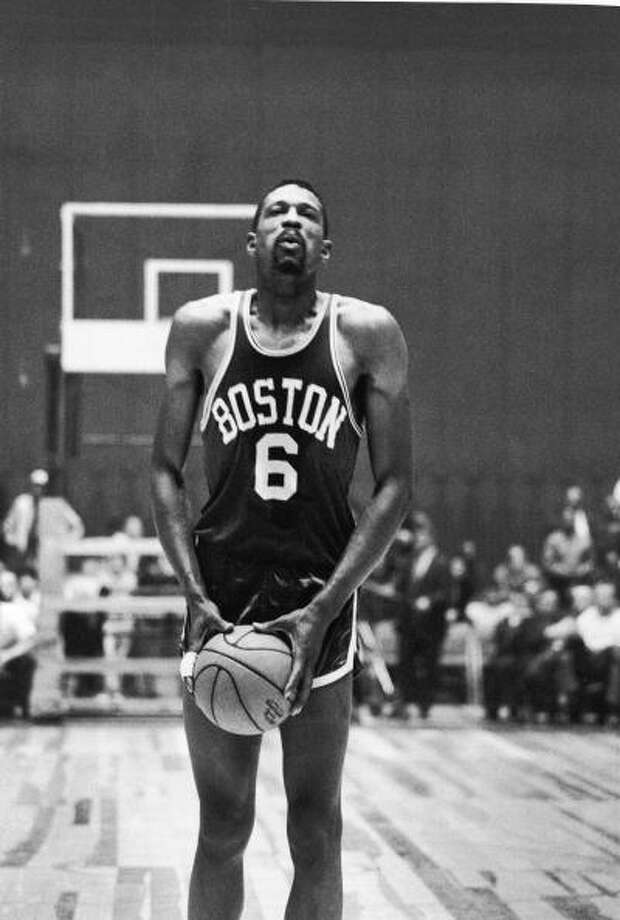 1961-62 — Bill Russell, Boston Photo: Robert Riger, Getty Images