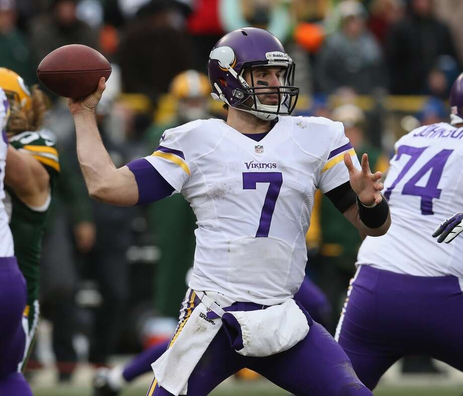 NFC NORTHVikings draft class-- Christian Ponder (QB, 1-12); Kyle Rudolph (TE, 2-43); Christian Ballard (DL, 4-106); Brandon Burton (DB, 5-139); Ross Homan (LB, 6-200); Brandon Fusco (OL, 6-172); Mistral Raymond (DB, 6-170); Demarcus Love (OL, 6-168); Stephen Burton (WR, 7-236); D'Aundre Reed (DL, 7-215)Grade: CPonder hasn't been worth the pick. Rudolph has. Only one other starter out of the 10 picks. Photo: Jonathan Daniel, Getty Images