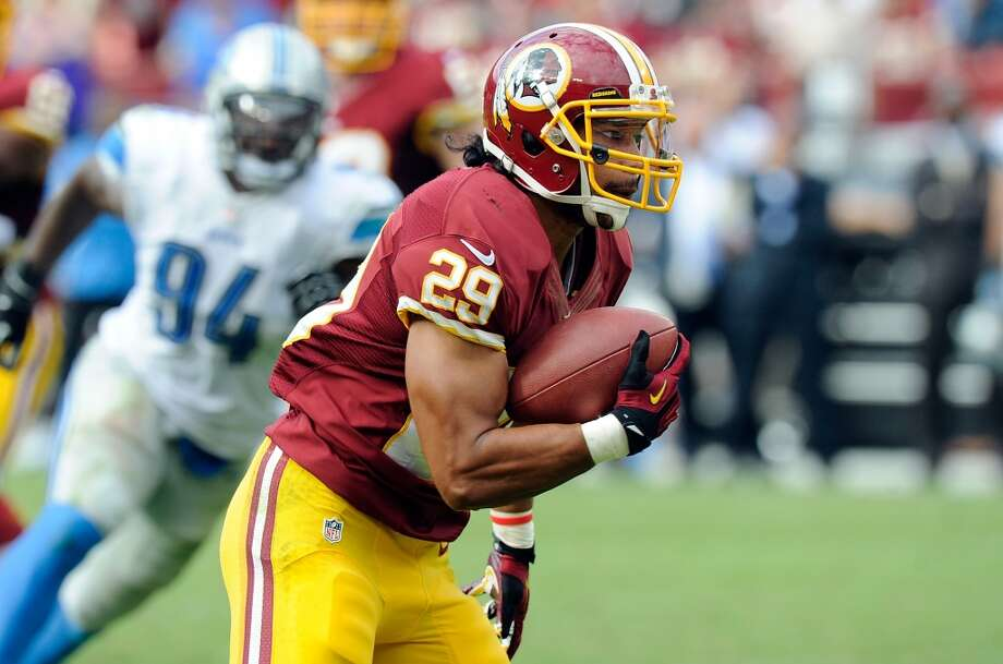 NFC EAST  Redskins draft class -- Ryan Kerrigan (DE, 1-16); Jarvis Jenkins (DL, 2-41); Leonard Hankerson (WR, 3-79); Roy Helu (RB, 4-105); Niles Paul (WR, 5-155); Dejon Gomes (DB, 5-146); Aldrick Robinson (WR, 6-178); Evan Royster (RB, 6-177); Chris Neild (NT, 7-253); Markus White (DE, 7-224); Maurice Hurt (OL, 7-217); Brandyn Thompson (DB, 7-213)  Grade: B  Kerrigan and Jenkins are starters. Of their other 10 picks, they still have seven on the roster as backups. Photo: G Fiume, Getty Images