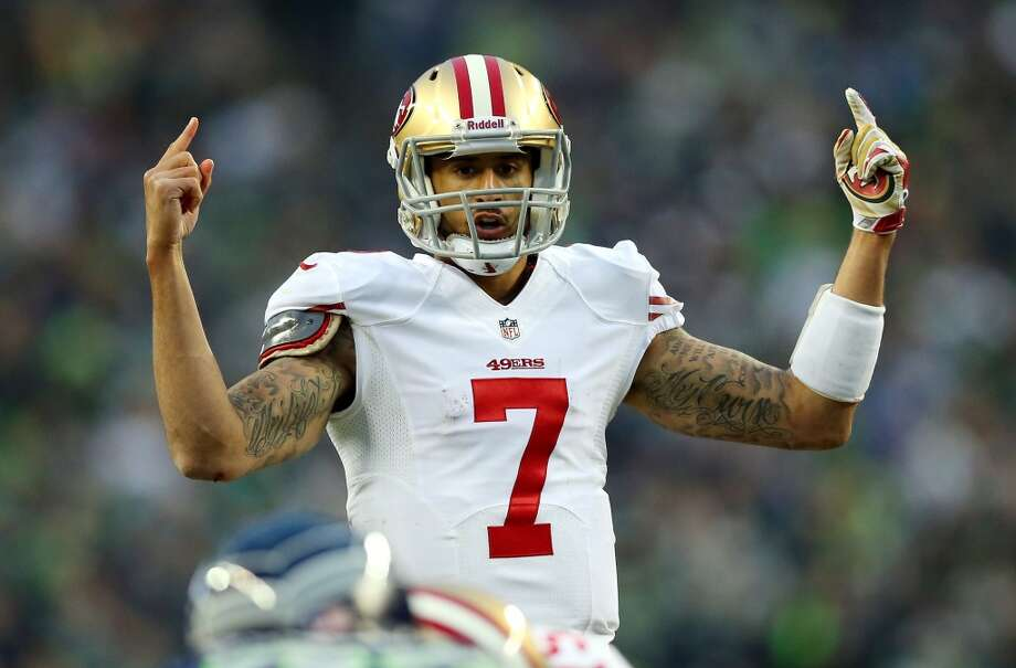 NFC WEST49ers draft class-- Aldon Smith (DE, 1-7); Colin Kaepernick (QB, 2-36); Chris Culliver (DB, 3-80); Kendall Hunter (RB, 4-115); Daniel Kilgore (OL, 5-163); Colin Jones (DB, 6-190); Ronald Johnson (WR, 6-182); Curtis Holcomb (DB, 7-250); Michael Person (OL, 7-239); Bruce Miller (DL, 7-211)Grade: A  A windfall with starters and depth, beginning with Smith and Kaepernick at the top and Culliver and Hunter right after them. Photo: Ronald Martinez, Getty Images