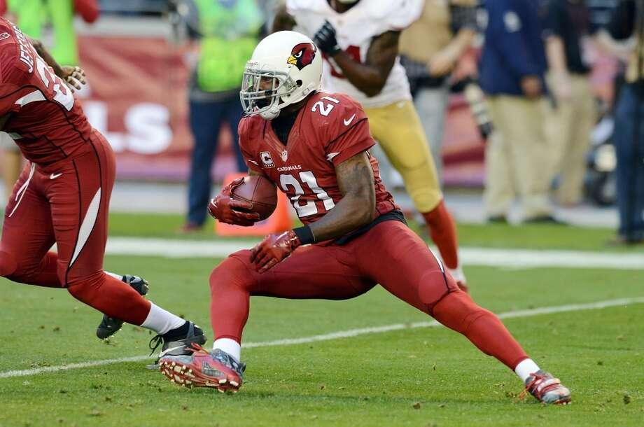 NFC WESTCardinals draft class-- Patrick Peterson (DB, 1-5); Ryan Williams (RB, 2-38); Rob Housler (TE, 3-69); Sam Acho (LB, 4-103); Anthony Sherman (RB, 5-136); David Carter (DT, 6-184); Quan Sturdivant (LB, 6-171); DeMarco Sampson (WR, 7-249)Grade: C-plusPeterson is one of the NFL's best cover corners, and he's an outstanding punt returner. Not much else but some depth. Photo: Norm Hall, Getty Images