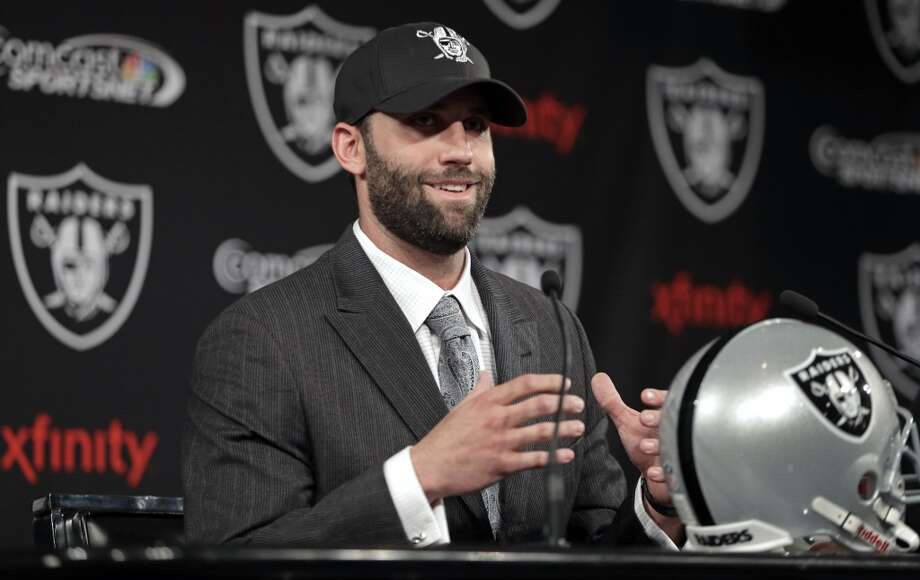 On March 21, 2014, the Texans traded Matt Schaub to his third team, the Oakland Raiders. Photo: Ben Margot, Associated Press
