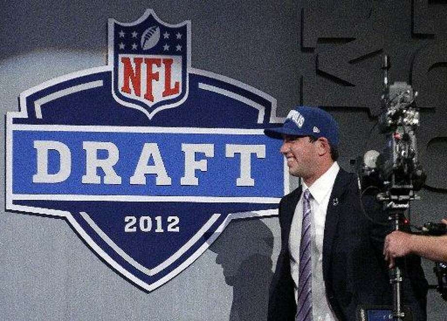 The Colts picked Andrew Luck first in the NFL Draft on Thursday. Photo: Frank Franklin, AP